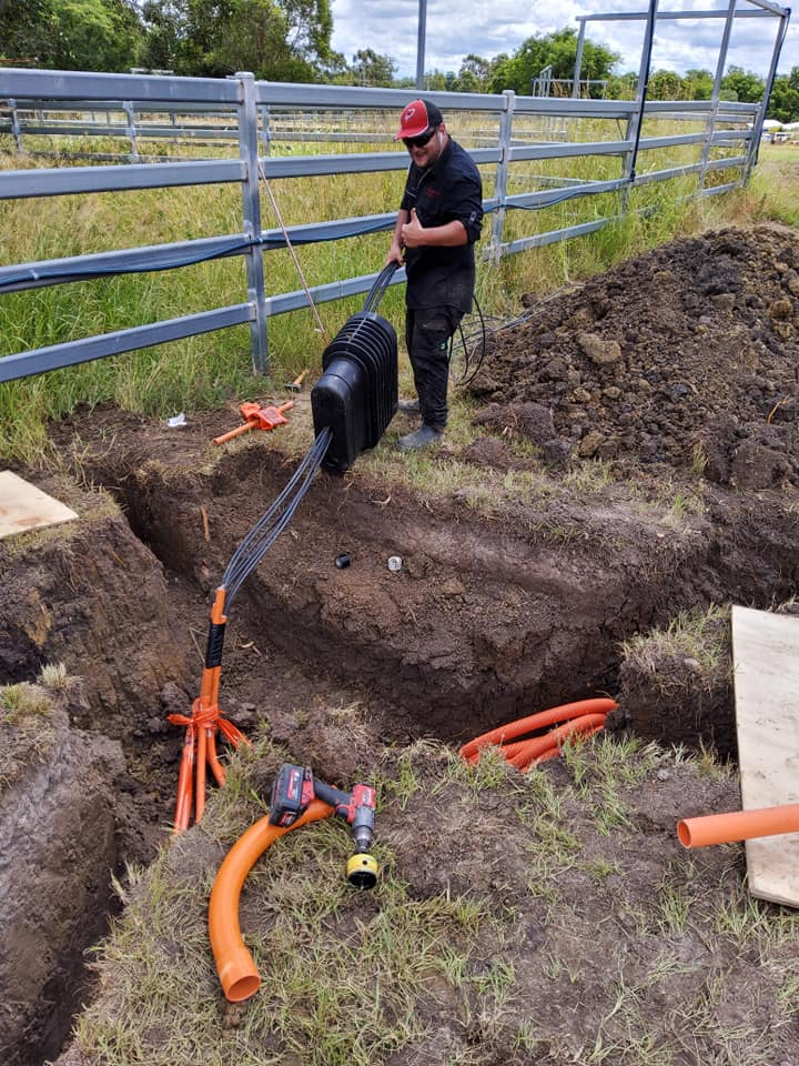 Precision Electrical Qld - underground cabling